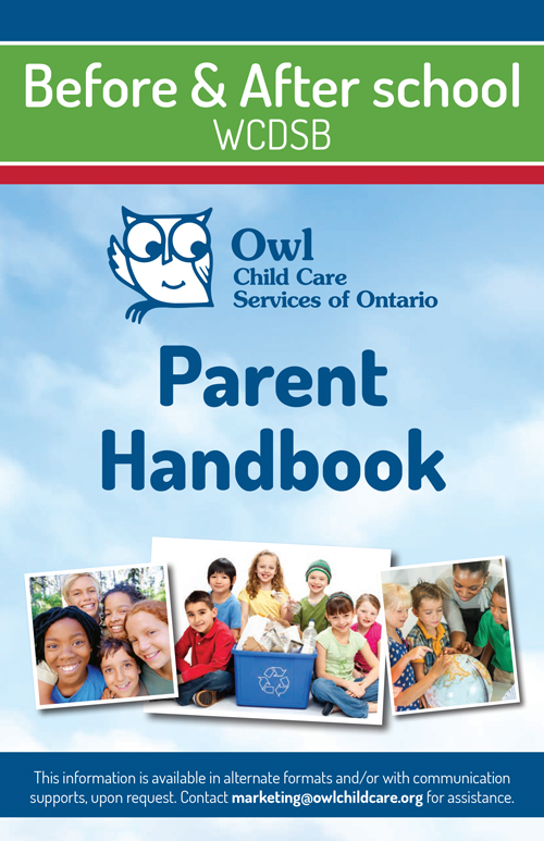 FULL DAY Parent Handbook cover