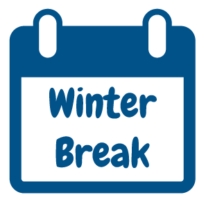 winter break calendar icon
